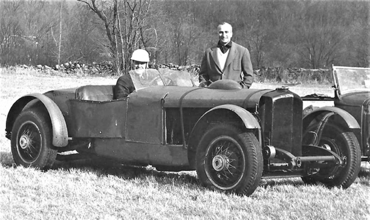 """Hoe's """"Duesenberg Special"""" competition roadster stood out at 1950s car shows."""