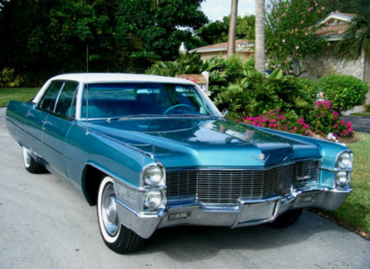 Car Of The Week 1965 Cadillac Sedan Deville Old Cars Weekly