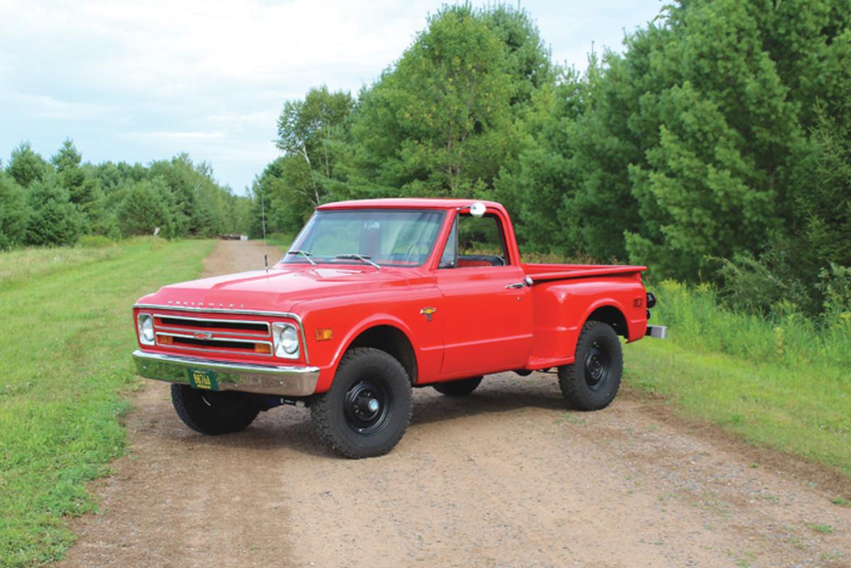 68 Chevy road Block