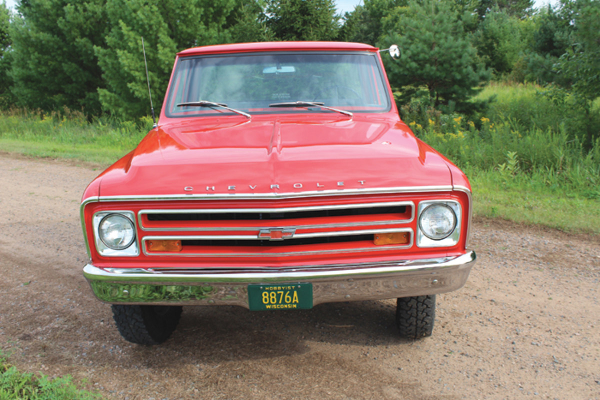 68 Chevy front