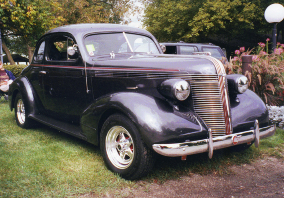 This '37 coupe was a fixture at the Lake Geneva Classic Car Rally.