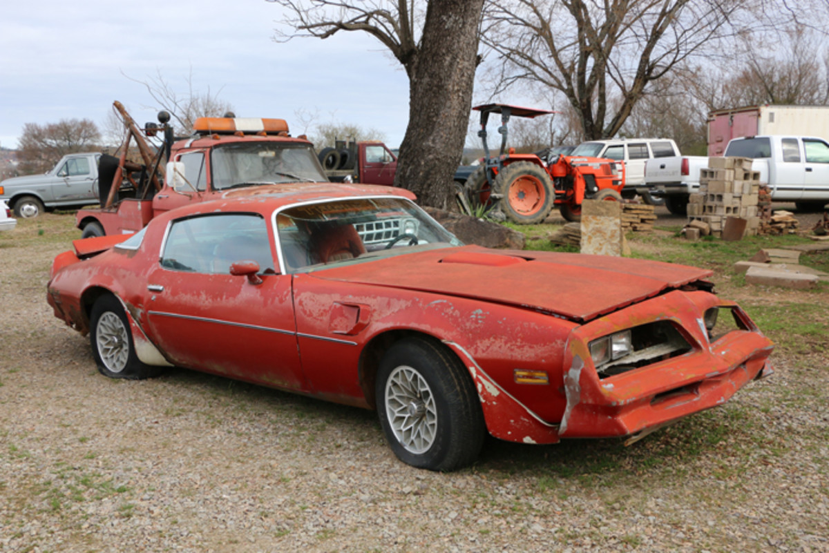The Trans Am was the top-selling Pontiac Firebird in 1977. This one needs body and interior work.