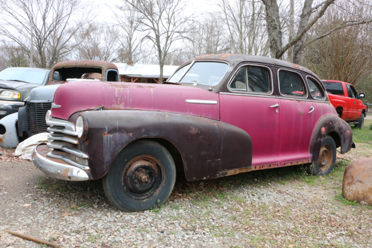 This 1947 Chevrolet Fleetmaster sedan runs, drives and is a solid restoration candidate.