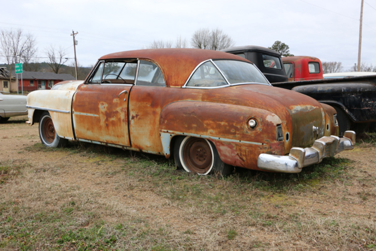 This 1951 Chrysler Newport is all there and would make a nice cruiser. It would probably be the only one at most car shows.