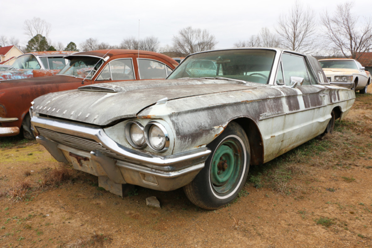 Everything is there to restore this 1964 Thunderbird, or it could be used as an excellent parts car.
