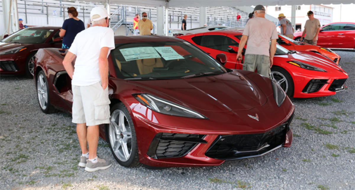 Corvettes at Carlisle 2020 2