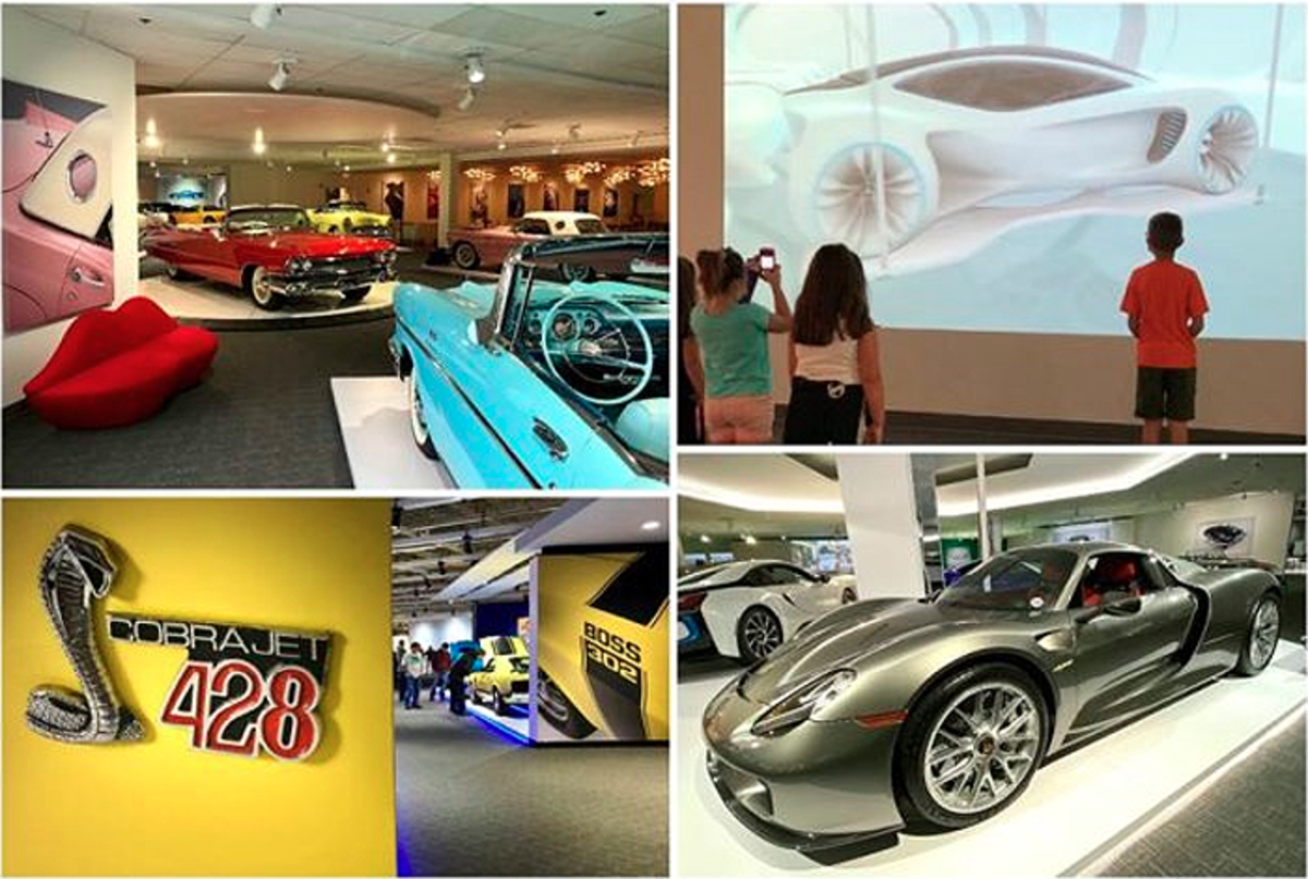The Newport Car Museum stays relevant for younger generations by mixing in plenty of newer model cars with the older and grouping them in separate galleries for Ford/Shelby, Corvettes, World Cars, Fin Cars, MoPars and American Muscle Cars.
