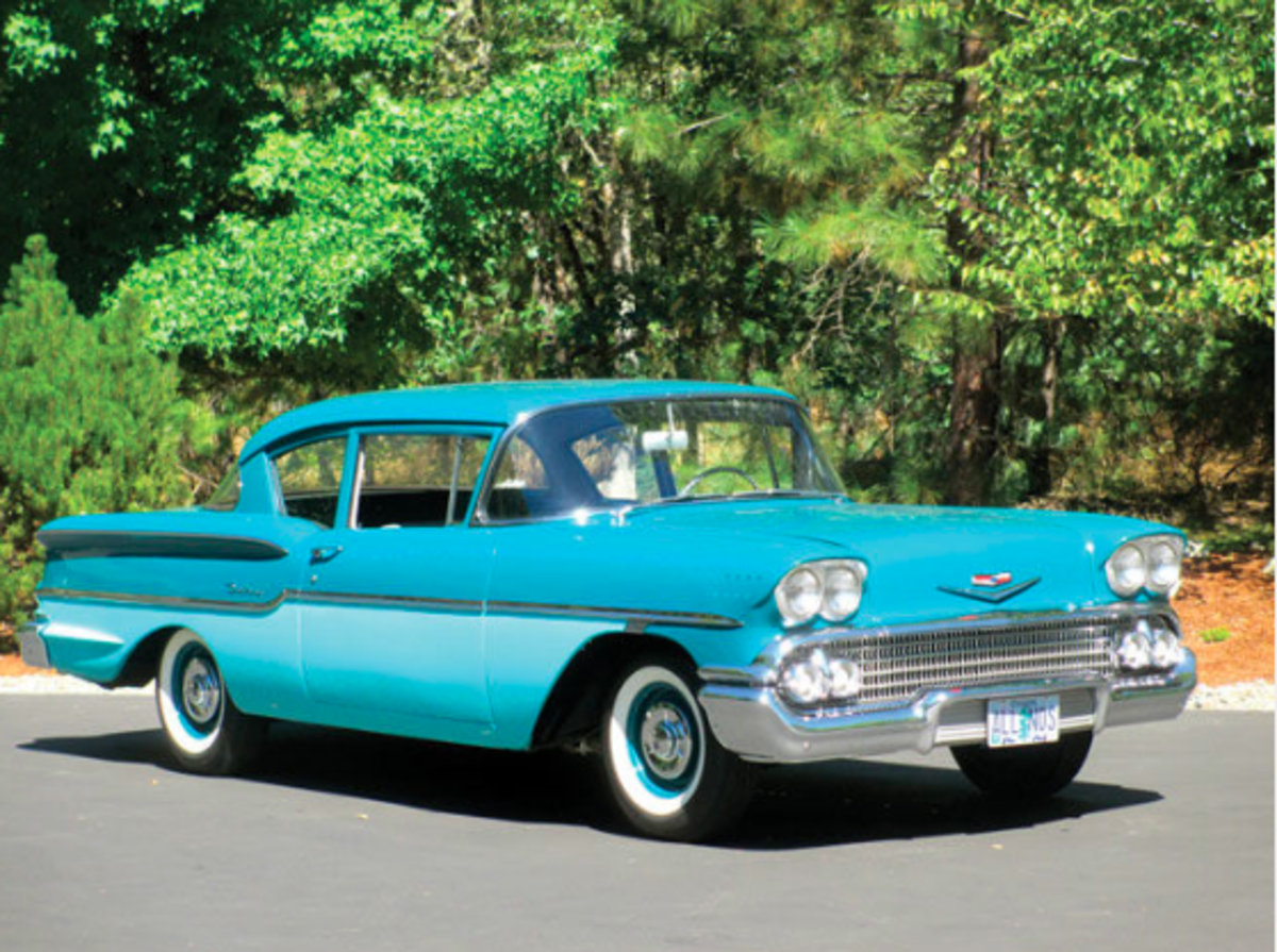 Car Of The Week 1958 Chevrolet Delray Old Cars Weekly