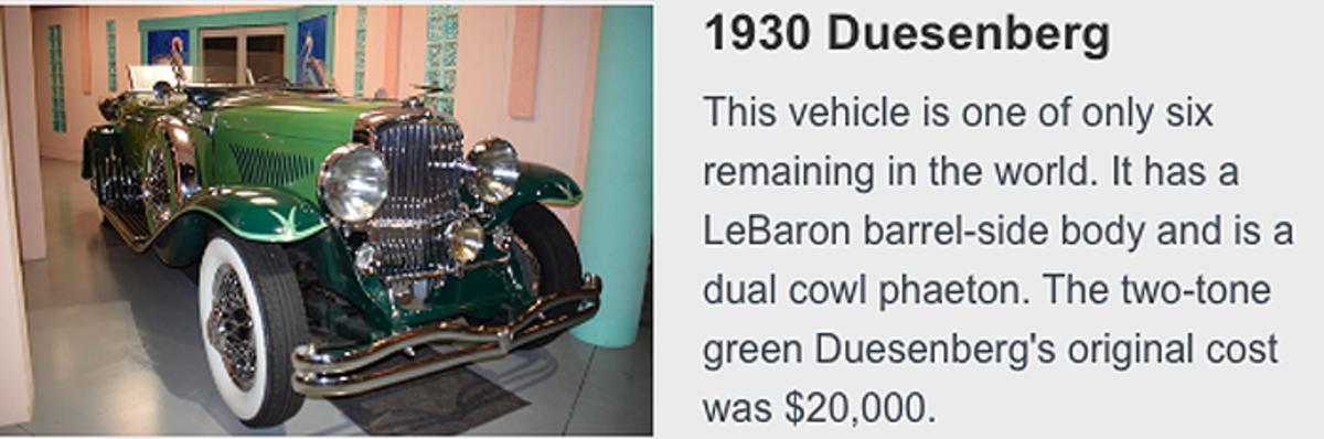 1930 Duesenberg