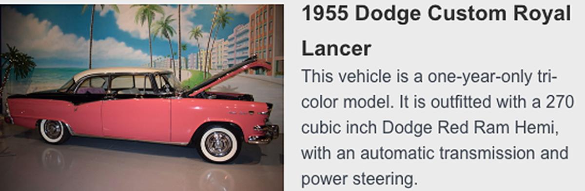 1955 Custom Royal Lancer