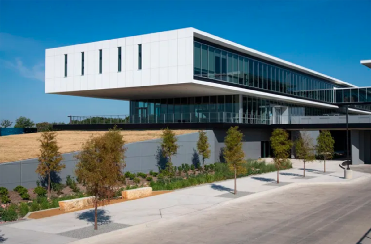 Collin College Tech Program building
