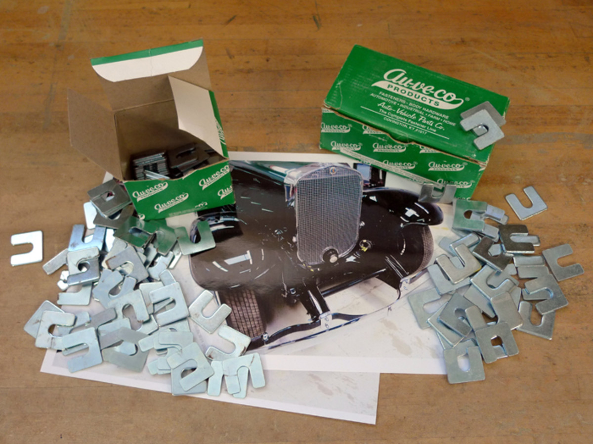 You can only do so much with a box of shims, but this time we're getting off easy, thanks to a restless night's sleep and Au-ve-co Products' shims.