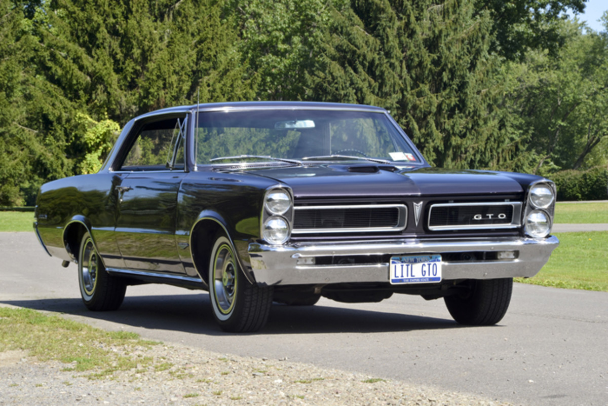 A 1965 Pontiac GTO is easily one of the most recognized cars of its time. Even those whose automotive tastes lie elsewhere typically can identify it correctly.