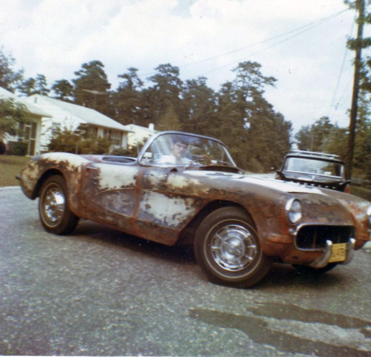 RW 1956 Corvette