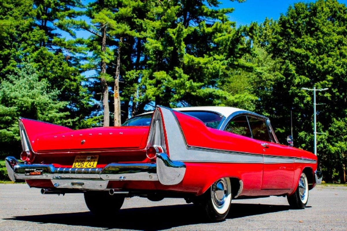 """SOLD: 1959 Plymouth Fury """"Christine"""""""