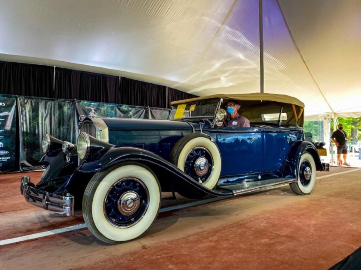 SOLD: 1931 Pierce-Arrow Dual Cowl Phaeton
