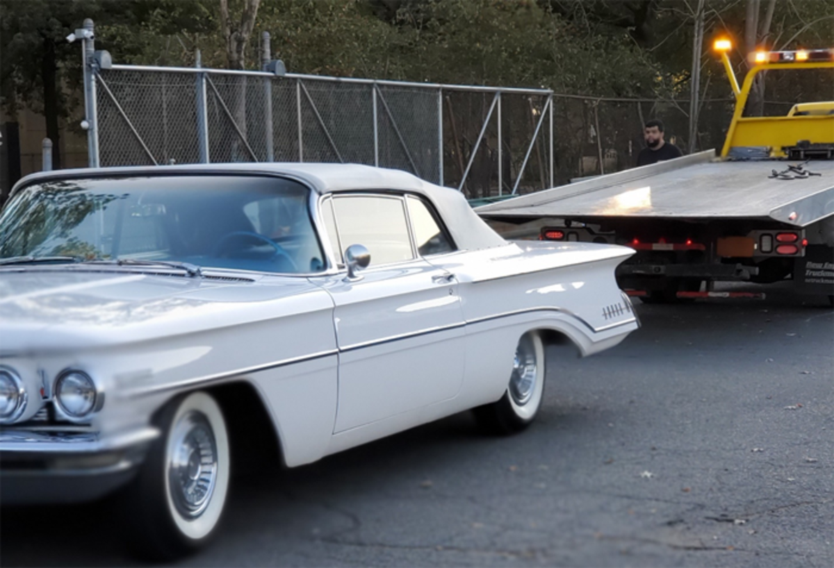 If you own a classic a flatbed can be a lifesaver, and the starting point of many roadside war stories. Swapping tales from the front is one of the hobby's hidden charms.