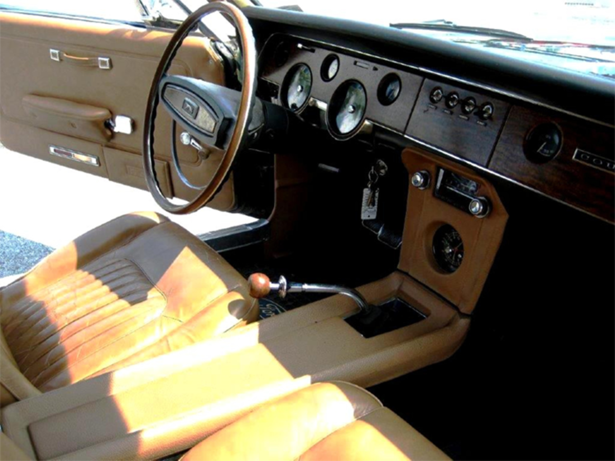 The interior looks great after 52 years.