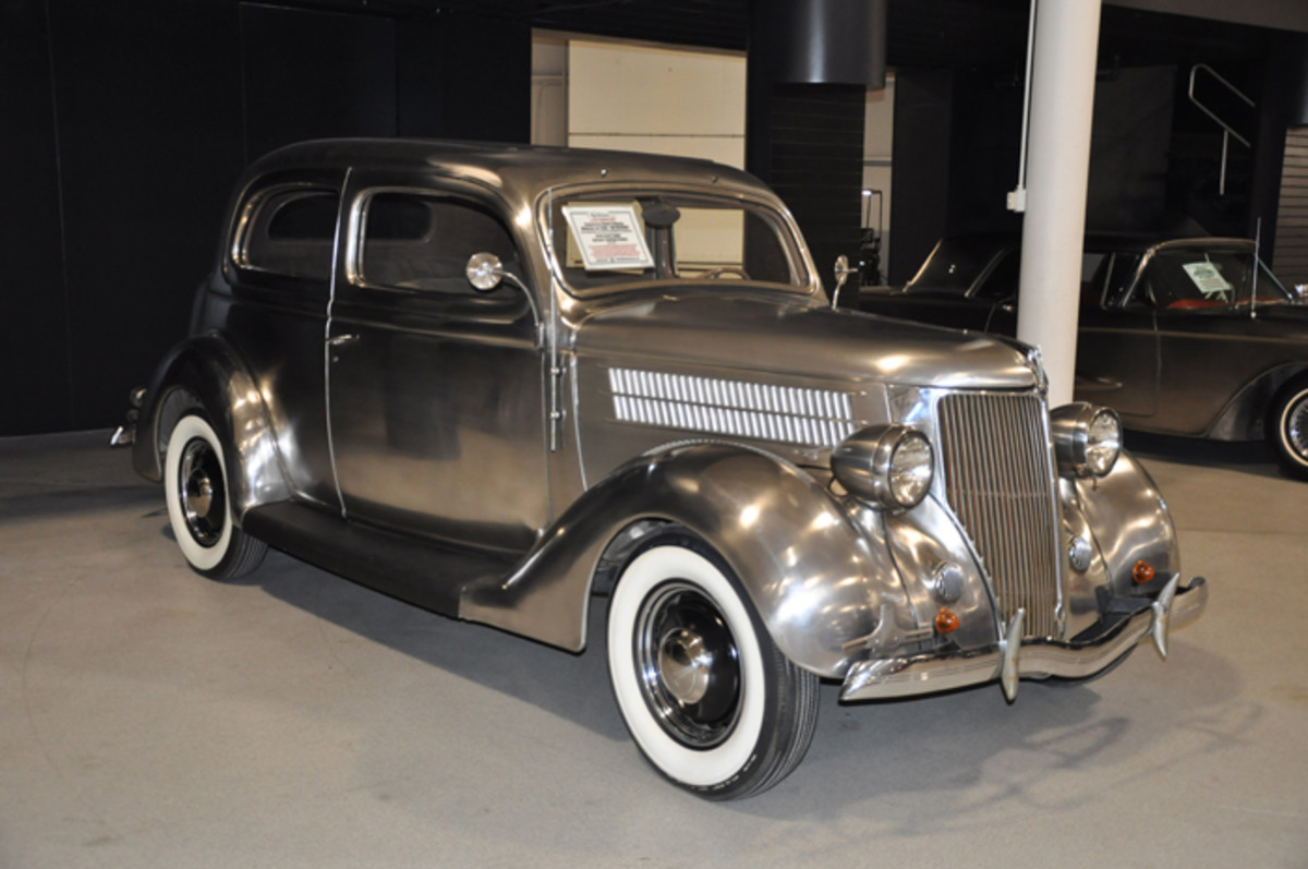 One of six produced and one of four that have survived, this 1936 Ford Deluxe Tudor sedan is part of the Allegheny-Ludlum collection to be offered by Worldwide Auctioneers over Labor Day weekend.