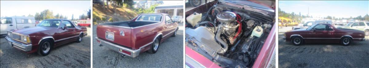 81 Chevy El Camino Spread