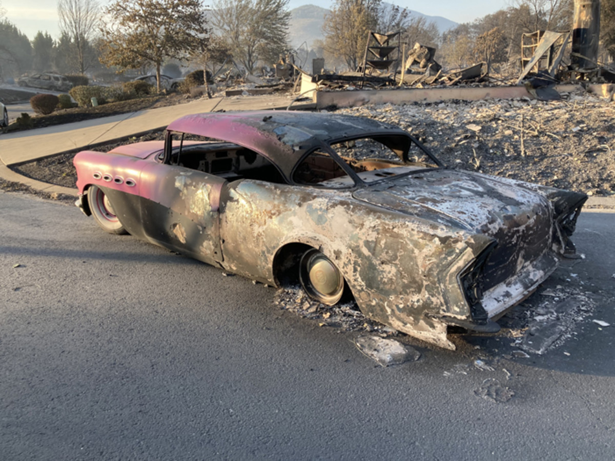 The sight thatDeville returned to was truly devastating.
