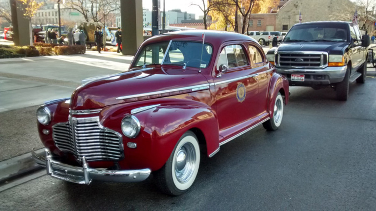 RW 1941 Chevy coupe DS