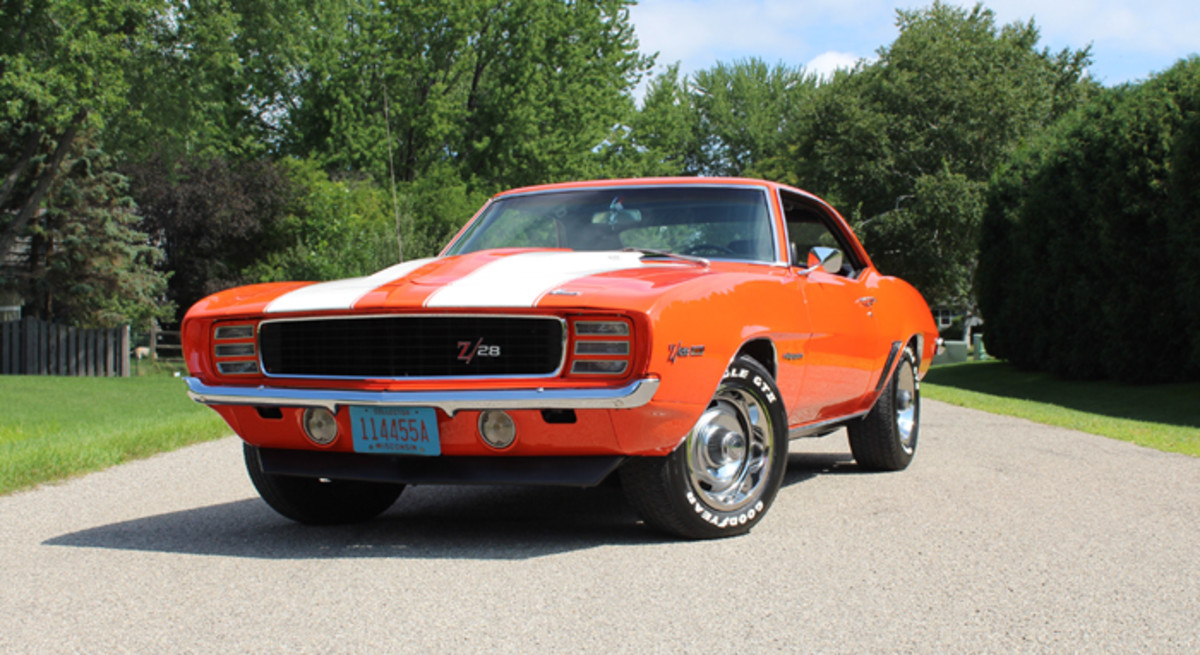 It is easy to see why the styling of the 1969 Chevrolet Camaro is a fan favorite with its aggressive stance and presence.