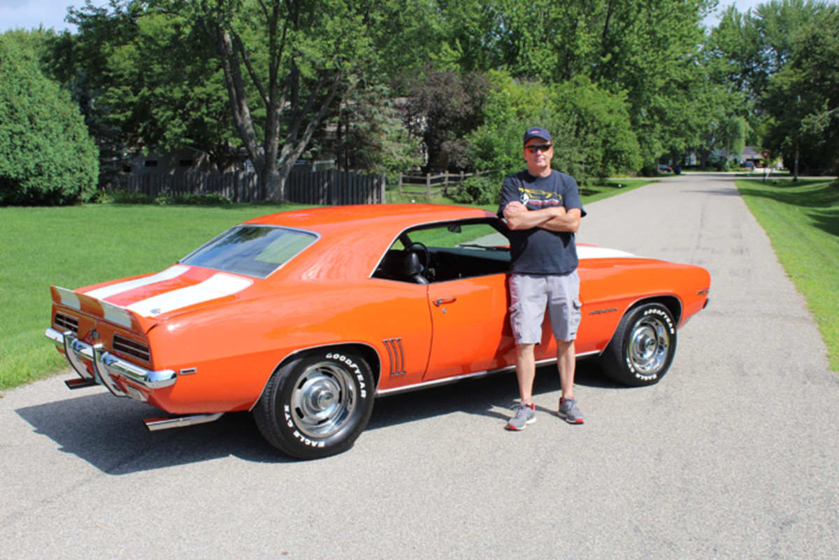 Storch and his '69 Camaro