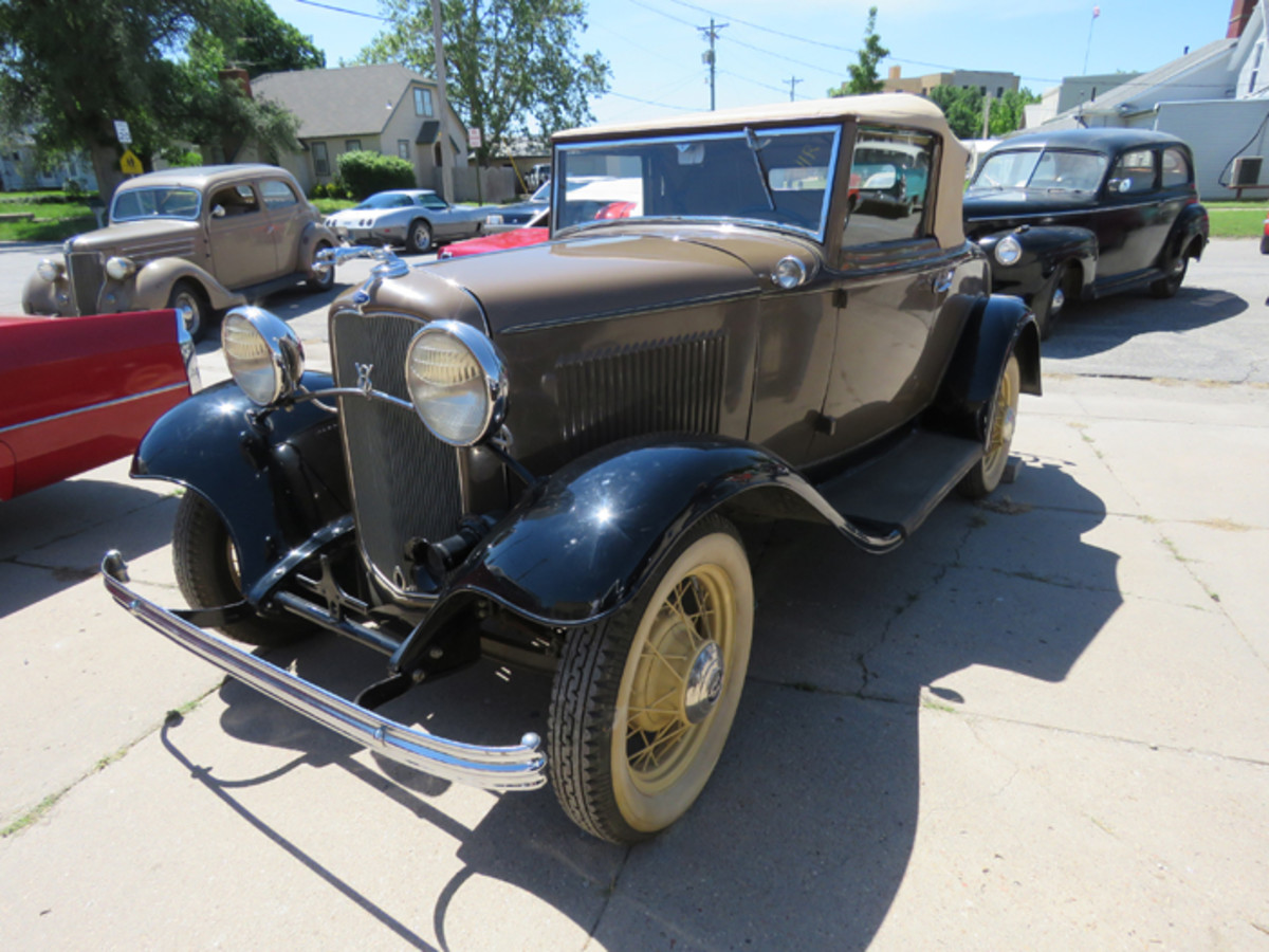 The late Bob Reghr collected many 1930s to 1960s cars, but 1932 Fords seemed to be his favorites. This Cabriolet is one of 20 1932 Fords from Regehr's collection that will be offered at auction.