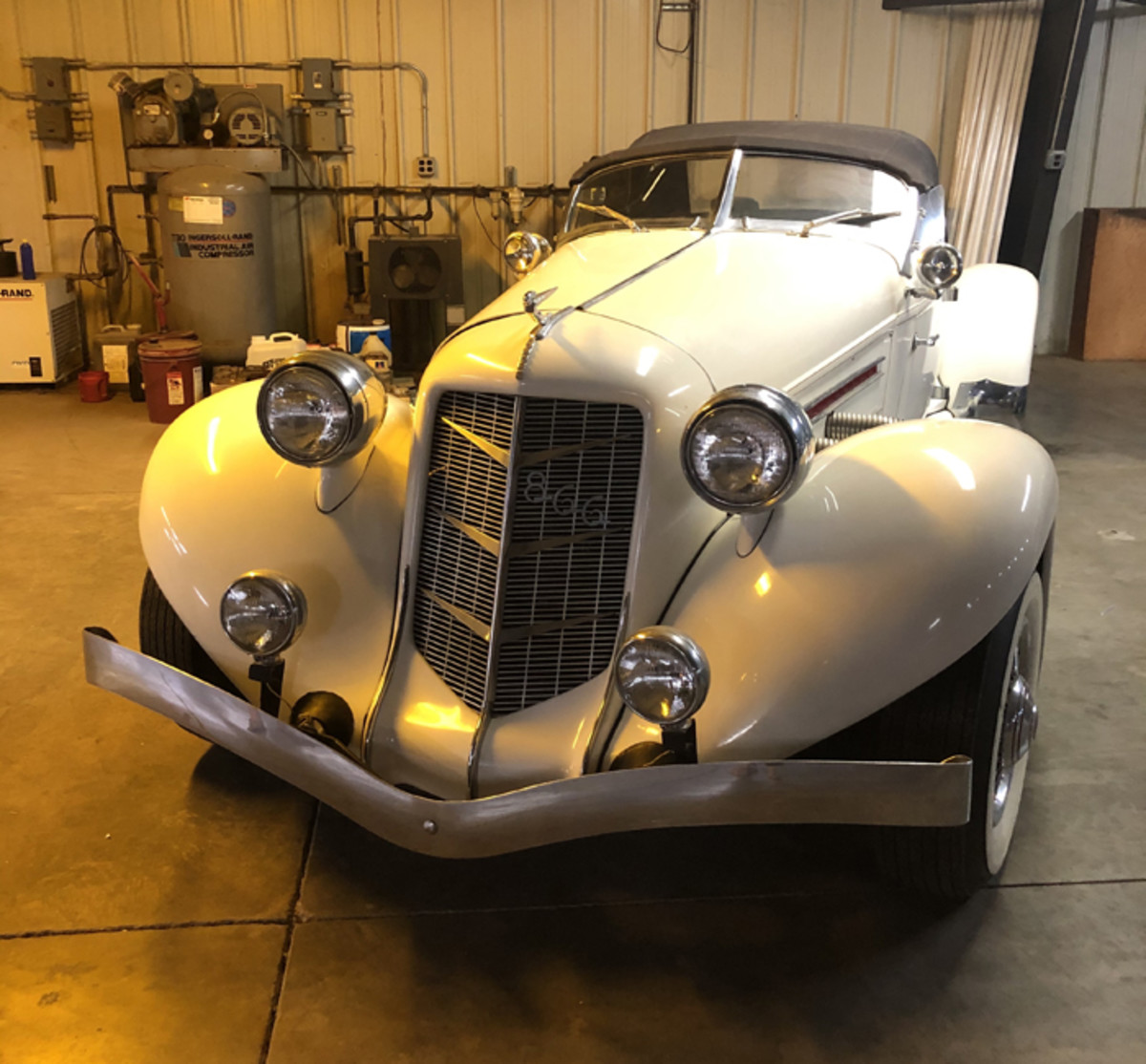 Mr. Adair also had a replica Auburn Speedster that will be sold by his estate.