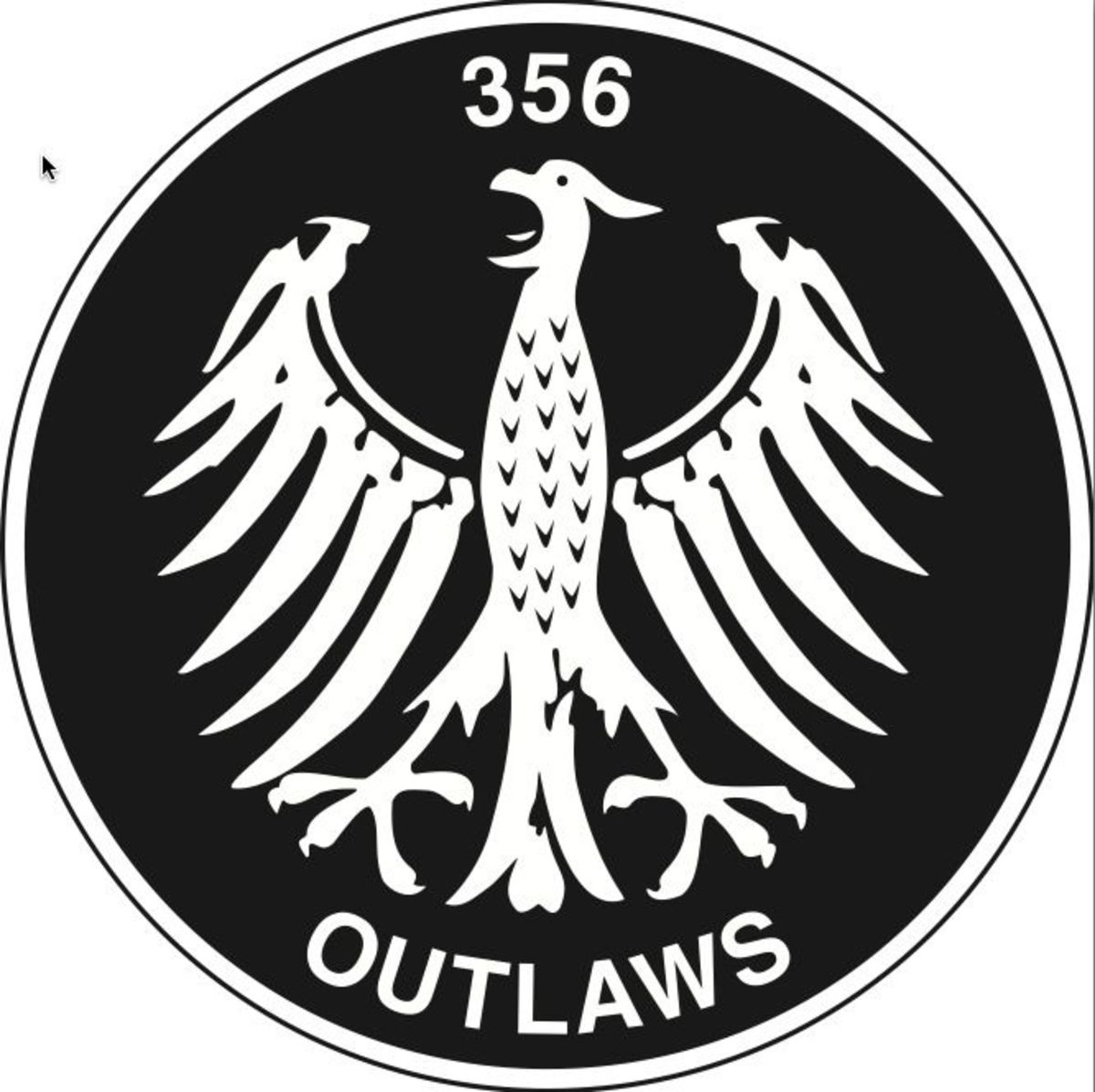 When Rod Emory was customizing a rare '53 Porsche coupe in the late 1980s, there was no class to display the car so he developed this little 'Outlaw' badge. Emory put these badges on his own cars and gave them to friends who were hot rodding their Porsches. Ever since, modified Porsches aren't called hot rods; they're Outlaws.
