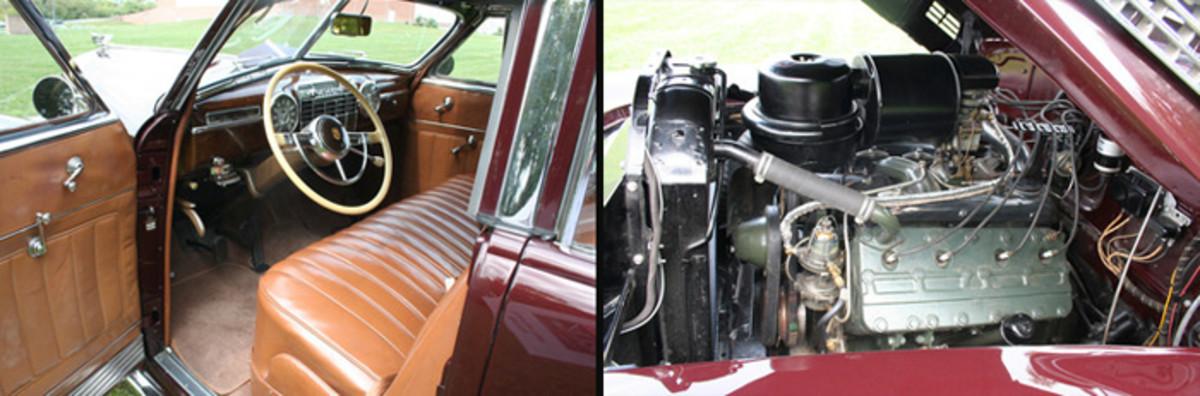 Cadillac Front Interior Engine 2