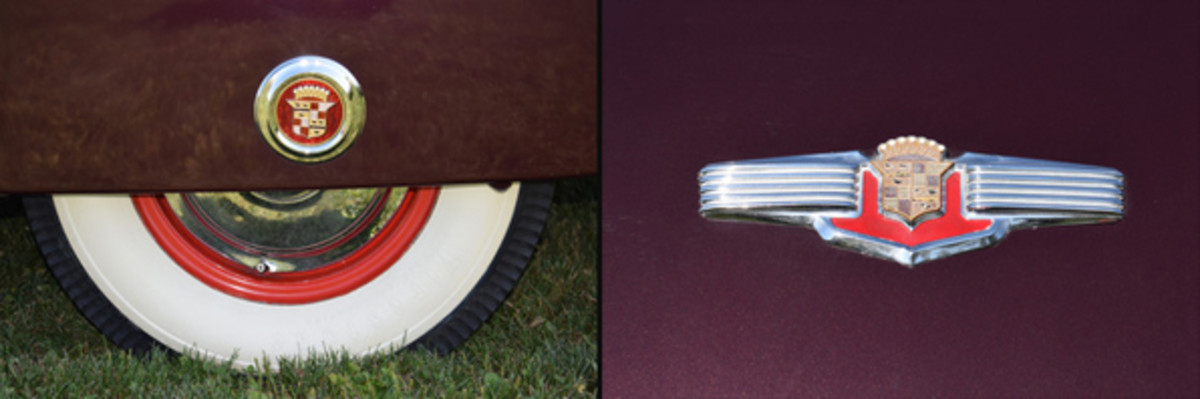 Cadillac Skirts and emblem