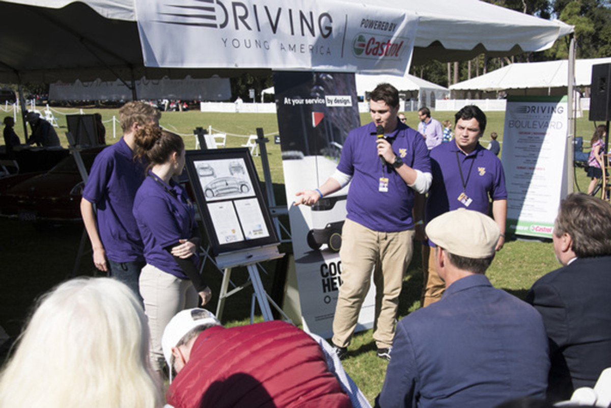 Finalists present to judges at the 2019 Hilton Head Island Concours d'Elegance