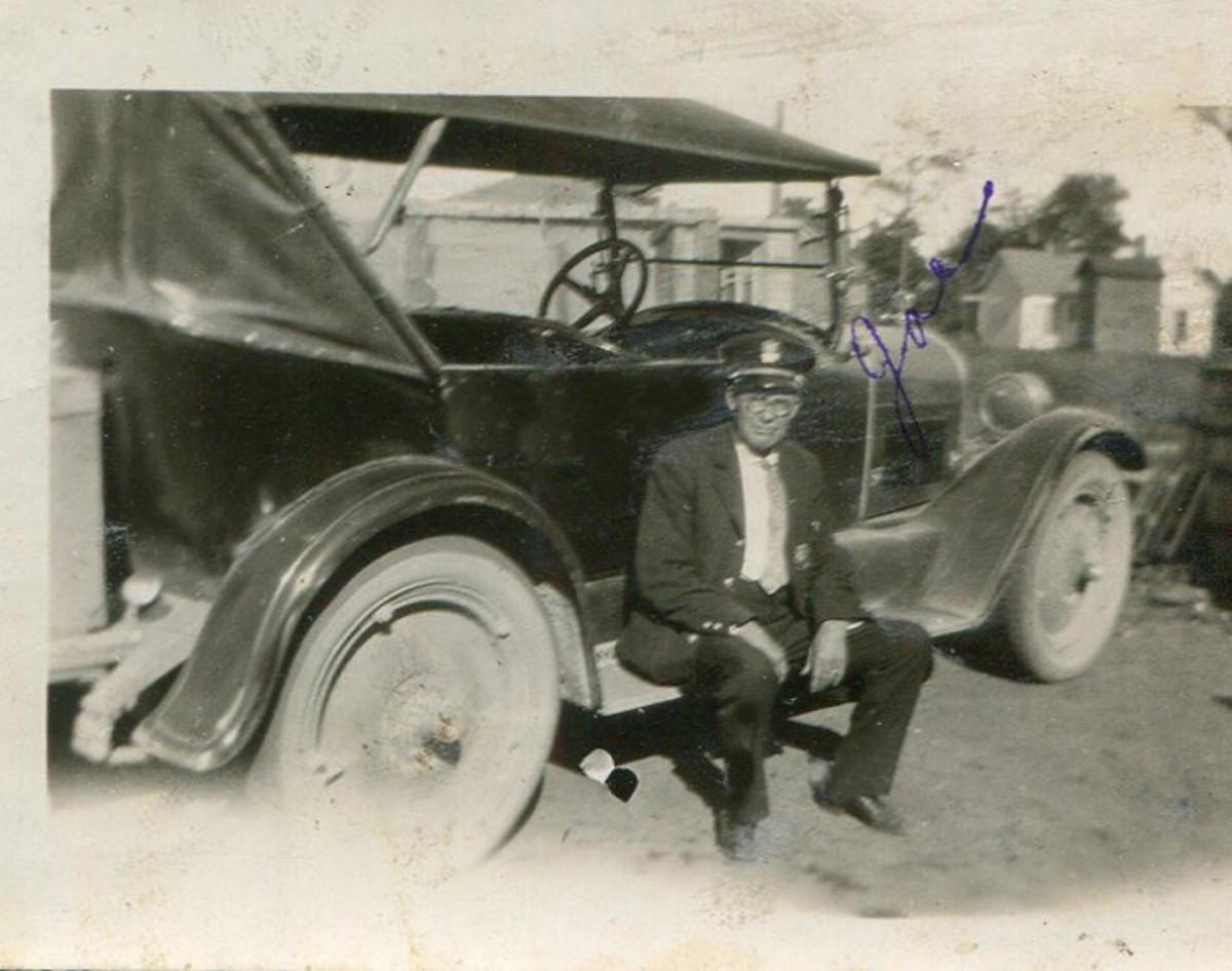 Adams City Marshal Joe Paulsen, who arrested Harvey in Adams, Wis., in 1921.