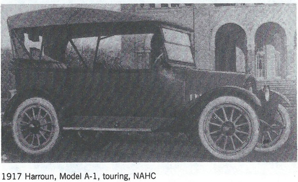 At the time he stole the 1921 Packard, Harvey Church owned an unreliable circa-1917 Harroun similar to the touring pictured here.