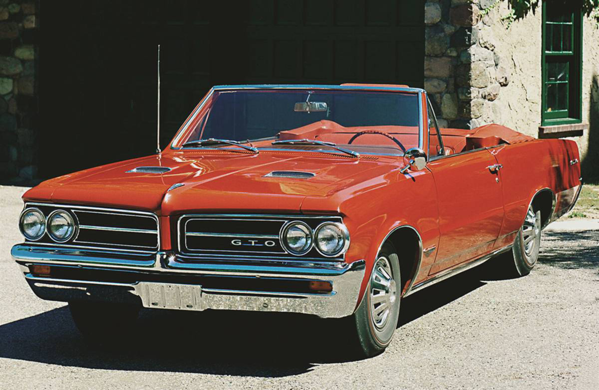 1964 Pontiac Tempest LeMans with GTO option