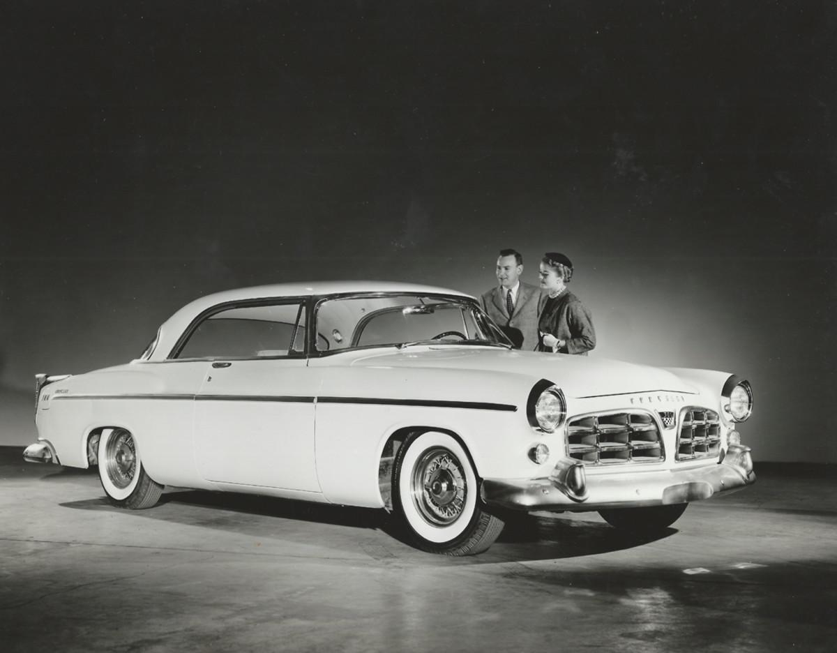 """1955 Chrysler 300 C-300 """"Letter Car"""""""