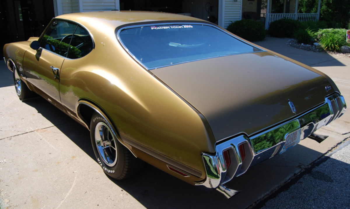 The 4-4-2 exhaust tips cost $10 at a GM dealer back in the late '70s.