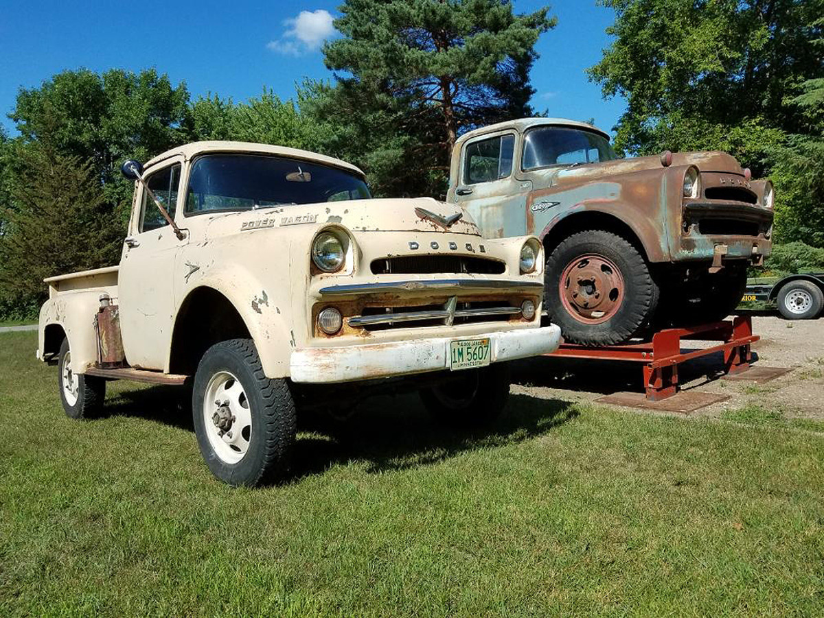 Old Cars Reader Wheels 1957 Dodge W100 Power Wagon Old Cars Weekly