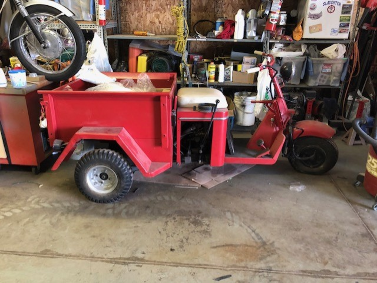 1959 Cushman Truckster, this will be one of my next projects.
