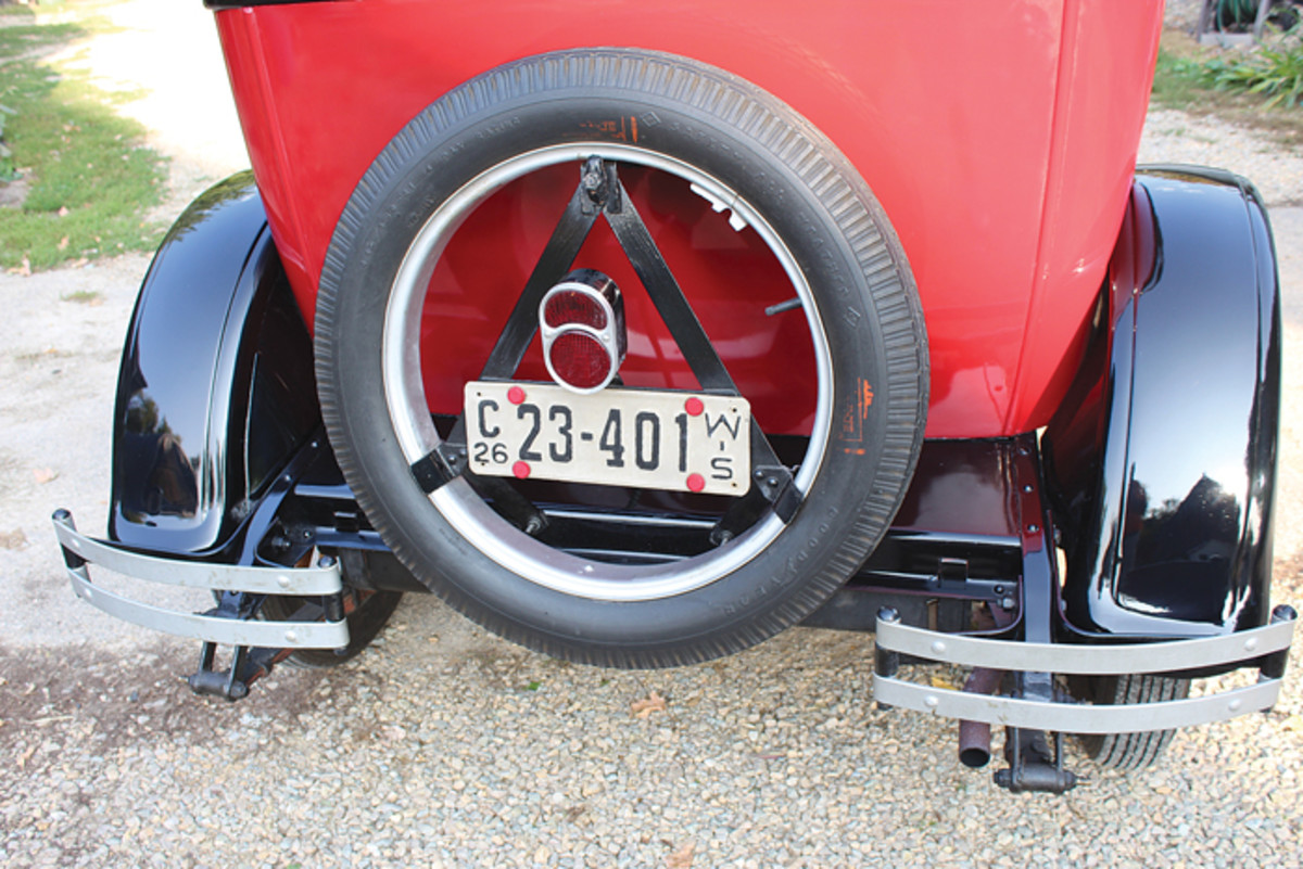 Several years of parts hunting helped Doug Knuth complete a full and authentic restoration of this car back in 2006.