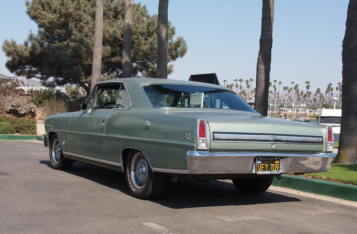 Car Of The Week 1967 Chevy Ii Nova Old Cars Weekly