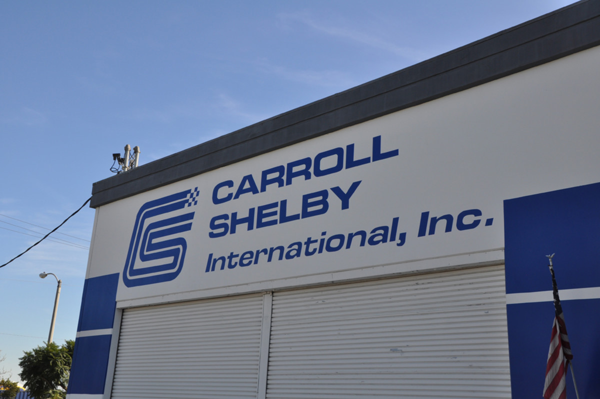 Construction of the OVC continuation Shelby GT350 Competition models takes place at Carroll Shelby International's headquarters in Gardena, California.
