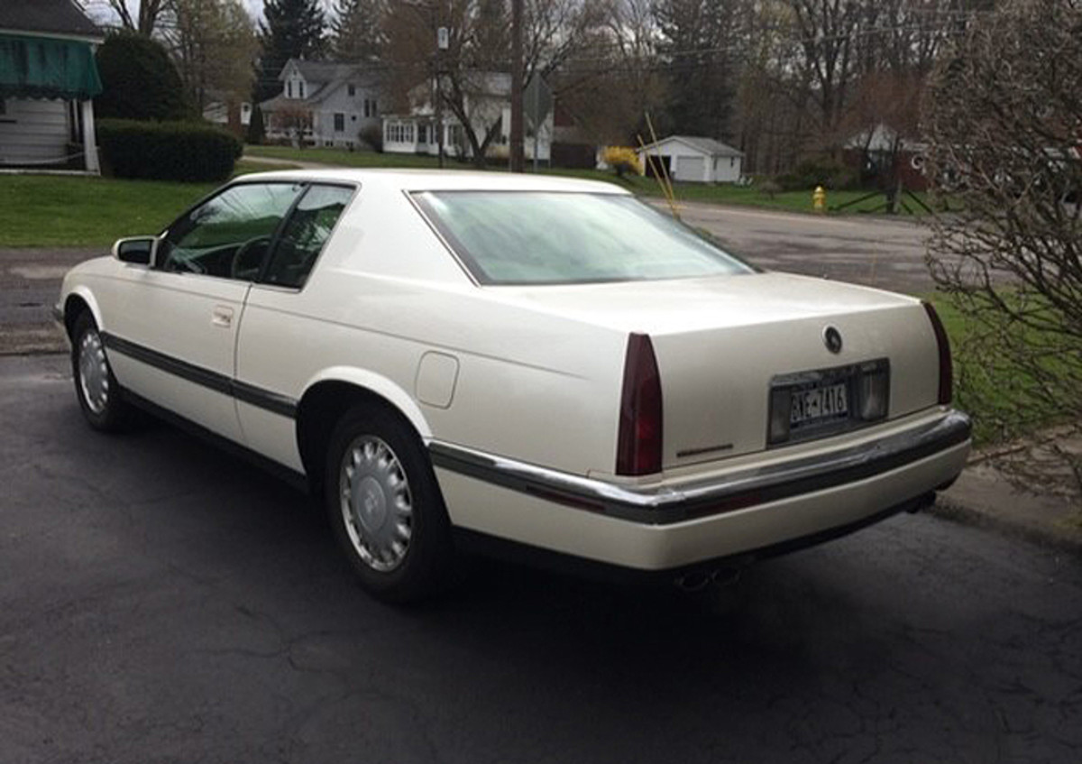 94 Caddy Rear