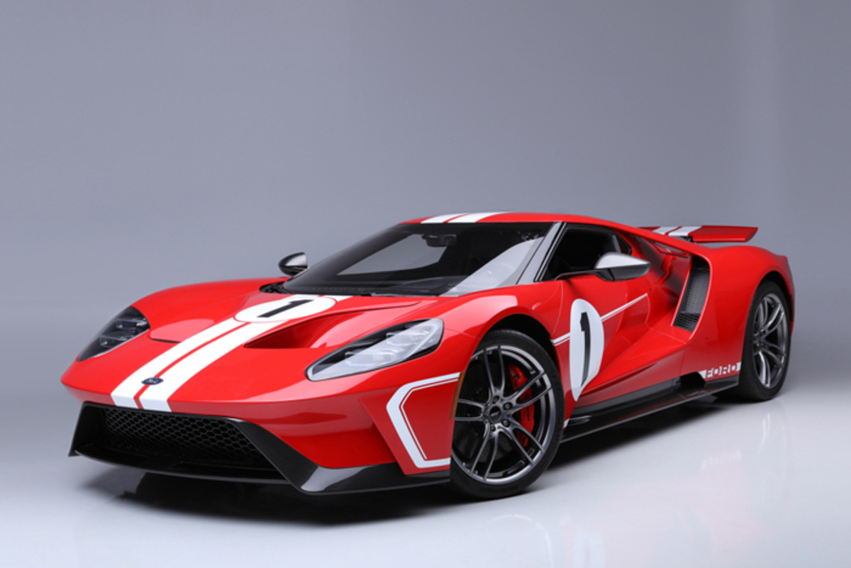 2018 '67 Heritage Edition Ford GT