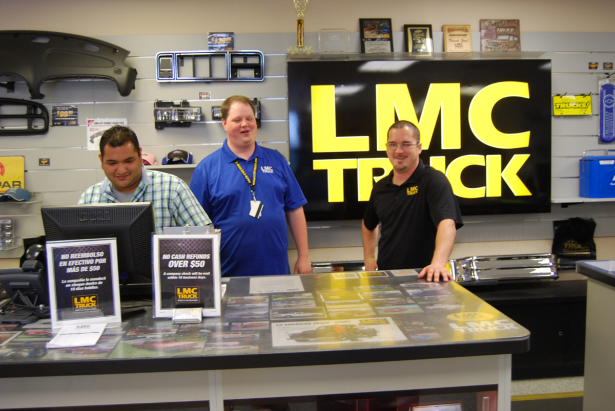 The company's LMC Truck division was its largest.