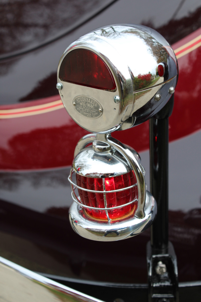 Check out the Studebaker touches like the extra tail lamp.
