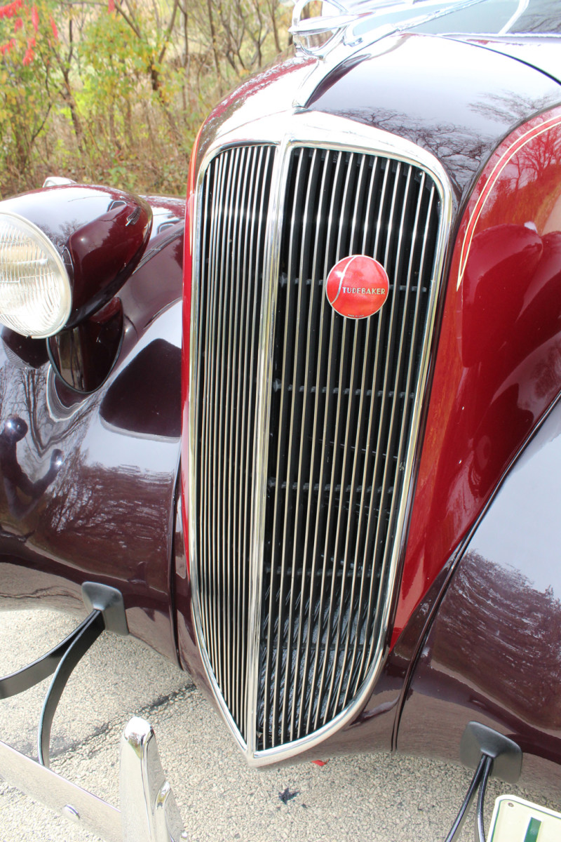 The bumpers were actually considered an accessory when the cars were new, as were the bumper guards.