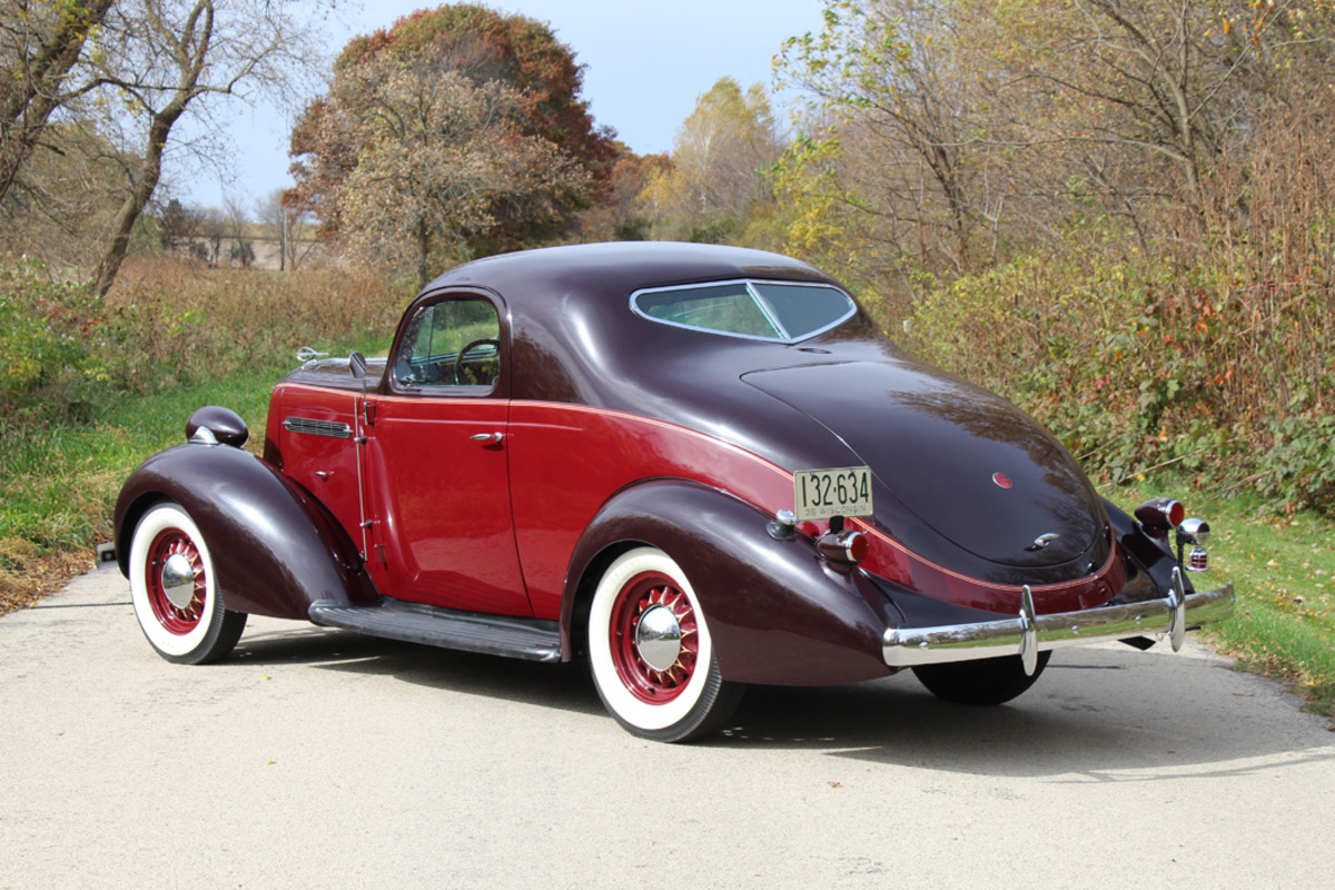 Terry Frye's 1936 Dictator coupe is a nearly flawless specimen with attention to detail in all corners.